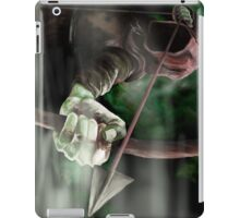 Robin the Hooded Man - Sherwood Forest, Robin Hood, Archer, Nottingham iPad Case/Skin