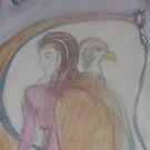 Eagle Goddess  by Anthea  Slade