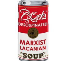 Zizek's Desoupinated Marxist Lacanian Soup iPhone Case/Skin