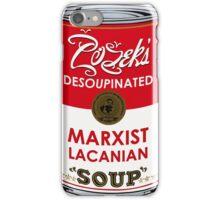 Zizek's Desoupinated Marxist Lacanian Soup iPhone Case/Skin