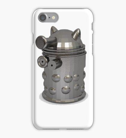 metal dalek iPhone Case/Skin
