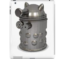 metal dalek iPad Case/Skin