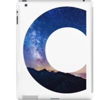 The Letter C - night sky iPad Case/Skin