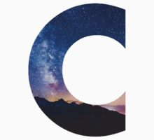 The Letter C - night sky by Dorian Designs