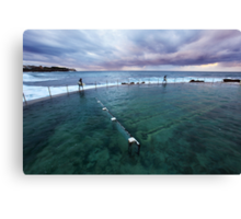 Bronte Beach Baths, Sydney, Australia Canvas Print