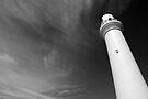 Split Point Lighthouse in the Black by Richard Heath