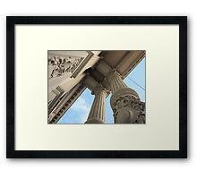 Theater Carré Framed Print