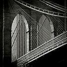 Brooklyn Bridge by Laurent Hunziker