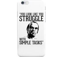 GTA V Trevor Simple Tasks iPhone Case/Skin
