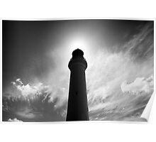 Split Point Lighthouse Eclipse 2 Poster