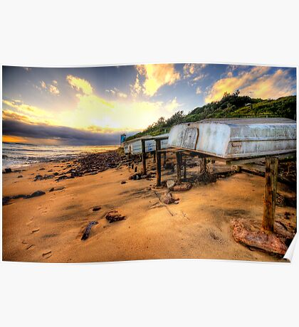 Old But Reliable - Long Reef, Sydney- The HDR Experience Poster