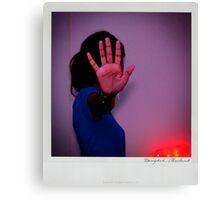 Hand Polaroïd Canvas Print
