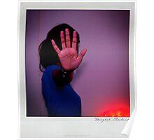 Hand Polaroïd Poster