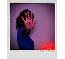 Hand Polaroïd Photographic Print