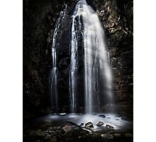 Waterfall Gully, Second Falls. Photographic Print