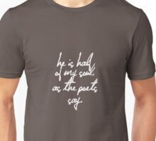 As the poets say, a patrochilles design. Unisex T-Shirt