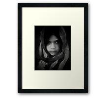 American Refugee Framed Print