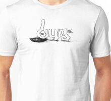 """don't BUG me."" (w/out frame) - The ""PLAYFUL TYPE"" Collection Unisex T-Shirt"