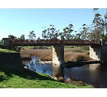 Small Country Bridge Photographic Print