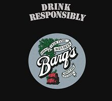 Barq's root beer drink responsibly  T-Shirt