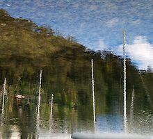 Yatchs reflection by angusimages