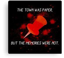 Paper Towns John Green Canvas Print