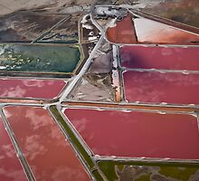 Salt Pans at the Atlantic Ocean by Conlynx