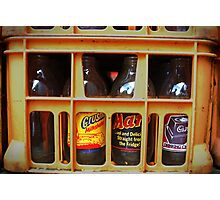 Pop Bottles Photographic Print
