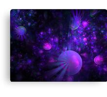 Jellyfish Fields Forever Canvas Print