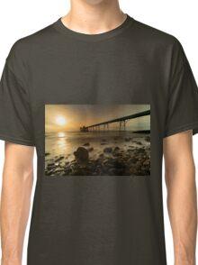 Clevedon Pier Sunset  Classic T-Shirt