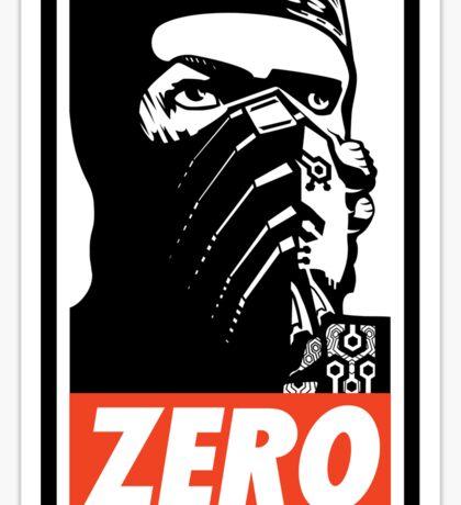 Sub Zero Has A Posse Sticker