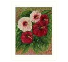 Bugle Flower Art Print