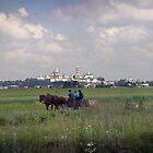 Pochaiv Monastery, Ukraine by Yuri Lev