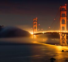 Bridge & Fog by Vincent James