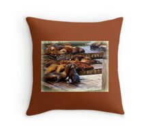 We're in Love Throw Pillow