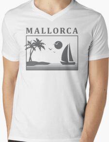 Mallorca Memories Mens V-Neck T-Shirt