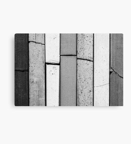 Pastels #1 (Black & White) Canvas Print