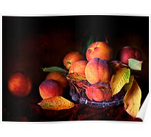 Eat A Peach Poster