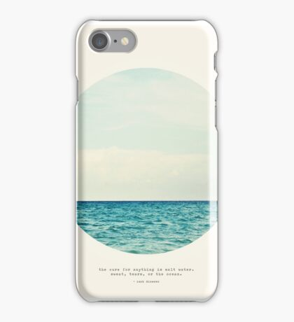 Salt Water Cure - Circle Print iPhone Case/Skin