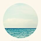Salt Water Cure - Circle Print by tinacrespo