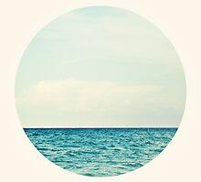 Salt Water Cure - Circle Print by tinacrespo