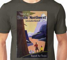 Pacific North West Vintage Unisex T-Shirt