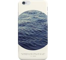 You or Me - Circle Print Series iPhone Case/Skin