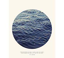 You or Me - Circle Print Series Photographic Print