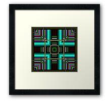 Squared Up Framed Print