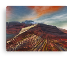 Eleganz01: High Cliffs Approach Canvas Print