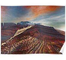 Eleganz01: High Cliffs Approach Poster