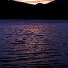 Lake Te Anau Sunset by David Gallagher