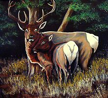 Forest Royalty #2 by Susan Bergstrom