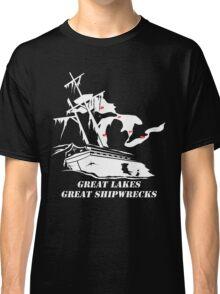 Great Lakes, Great Shipwrecks - White Classic T-Shirt